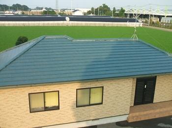 春日部市 太陽光発電システム こちらが太陽光発電システム設置前の屋根です。