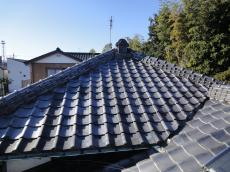 和型銀黒 リフォームのオガワ 春日部市 屋根葺き替え