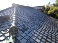 屋根葺き替え 和型銀黒 リフォームのオガワ 春日部市