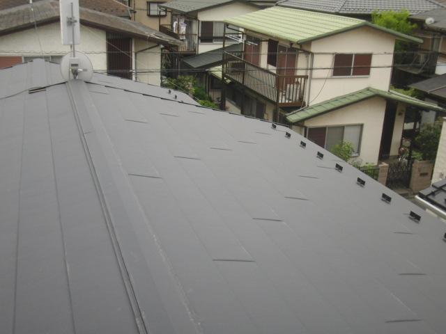 屋根 カバー工法 小川