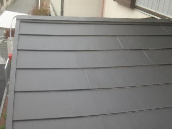春日部市 リフォームの小川 屋根 ガルテクト カバー工法