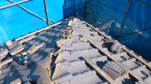 屋根 棟 雨漏り