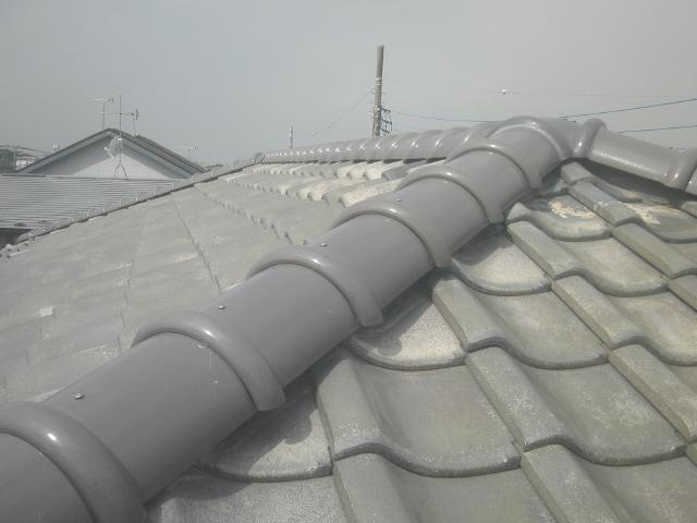 屋根 修理 漆喰
