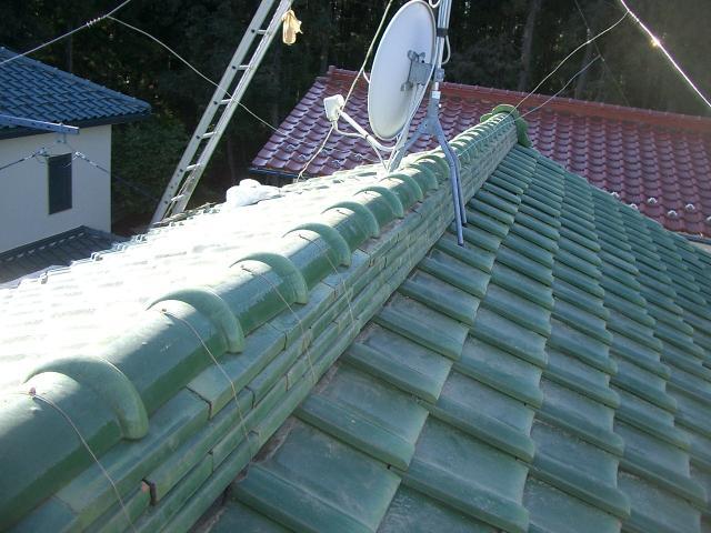 屋根 瓦 修理