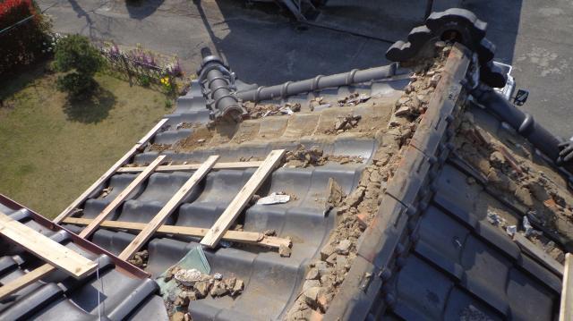 屋根 修理 小川