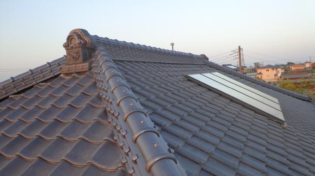 屋根 ノシ積み工法