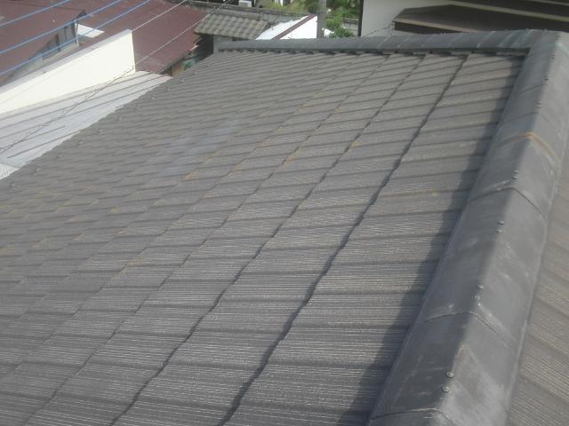 屋根 塗装 小川