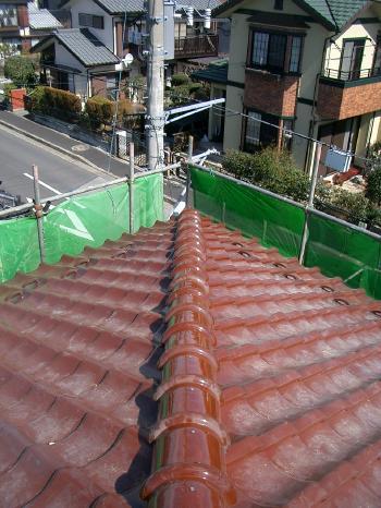 千葉県 M様邸 瓦・棟取り直し工事