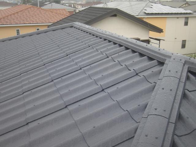 春日部市 H様邸 屋根塗装と外壁塗装事例