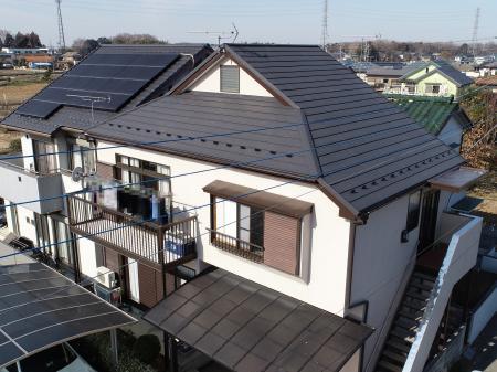 杉戸町 S様邸 屋根カバー工法リフォーム