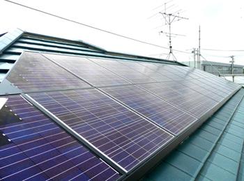 春日部市 O様邸 太陽光発電システム設置